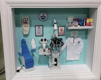 Optometrist / ophthalmologist Miniature Box