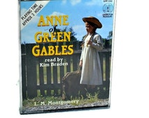 Audio Book Anne of Green Gables - 2 Audio Cassettes, Audiobook Classic Fiction, Childrens Story, Talking Books on Tape
