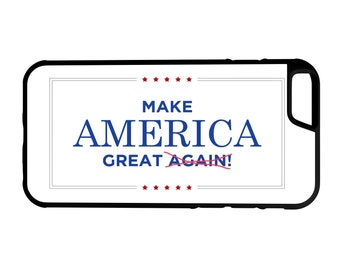 Make America Great iPhone Galaxy Note LG HTC Hybrid Rubber Protective Case