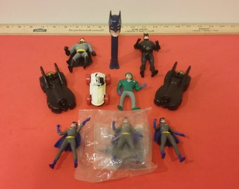 Vintage Batman Toys from Happy Meals