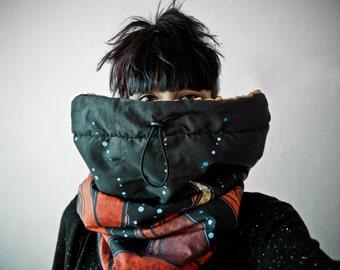 ooOCTOPUSoo waterproof neck warmer / hood