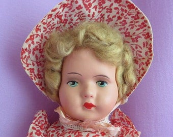 Sweet Composition Doll - Antique Doll, Vintage Doll