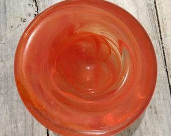 VINTAGE glass Dish/Bon Bon/Pin