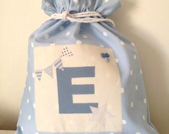 Personalised Initial Drawstring Bag