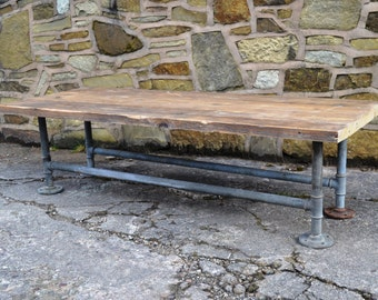 Scaffolding Board Coffee Table - by Siddall & Downing