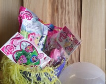 My Little Pony Jumbo Surprise Egg /Power Ball  with mystery and blind bag figures