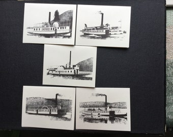 Historic Steamboat Notepaper