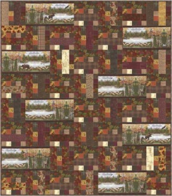 Endangered Sanctuary Quilt Pattern by Doug Leko of Antler : antler quilt design - Adamdwight.com