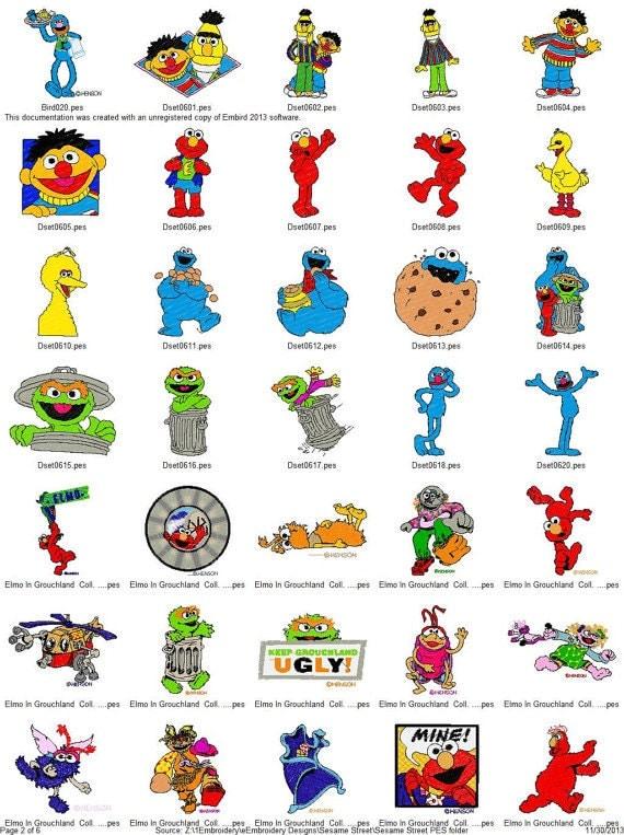 All Sesame Street Characters Names | www.pixshark.com ...