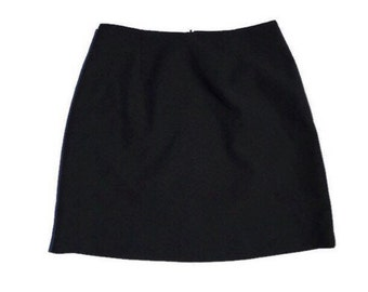 30% Flash Sale 90's Black A line Mini Skirt