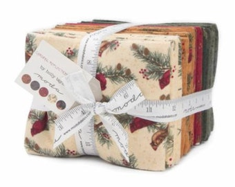 Cardinal Reflections by Holly Taylor Flannel Fat Quarter Bundle  19 FQ