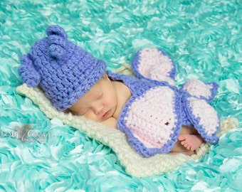 Crochet Butterfly Newborn Photo Prop/Infant Halloween Costume/Baby Shower Gift/Photography Prop