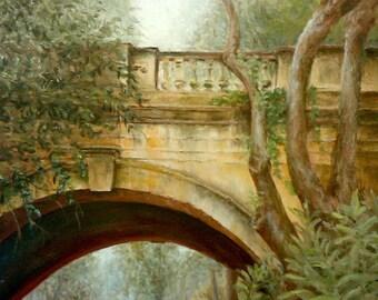 Puente y Bosque // Print