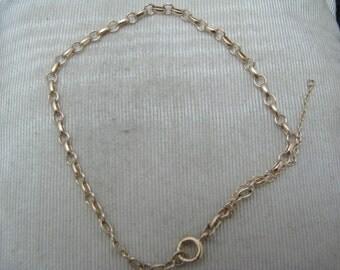 Lovely 14k Yellow Gold Charm Bracelet