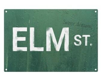 A Nightmare On Elm Street: Sweet Dreams Metal Sign