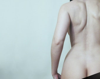 First Glimpse // Erotic Art // 8x10 signed print // Self Portrait Photography