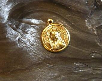 Saint Joan of Arc / Sainte Jeanne d'Arc Medal Gold