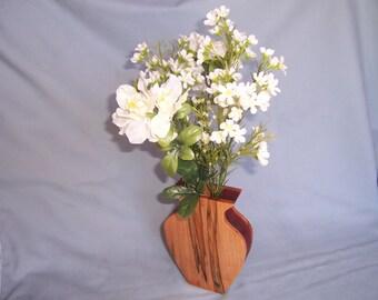 Vase-Wooden Vase-Flower Vase-Ambrosia Maple Vase-Gifts For Her-Small Wooden Vase