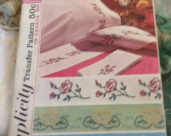 Vintage Embrodery Transfers