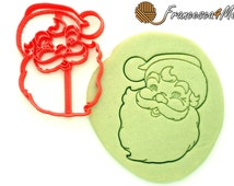 Santa Cookie Cutter/Multi Size/Christmas Cookie Cutter