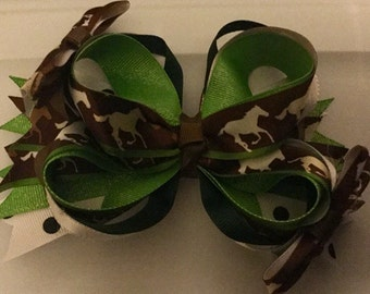 Custom Made Horse Boutique Bow