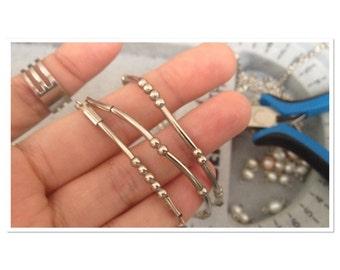 morse code attitude bracelets