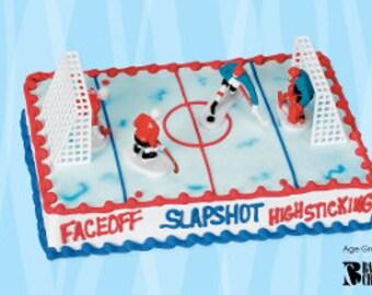 Hockey Team Cake Topper/ Hockey Team Figures/ Hockey Cake Topper/ Hockey Team/ Mini Hockey Team Toys