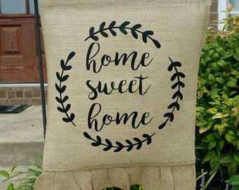 Home Sweet Home Garden Flag