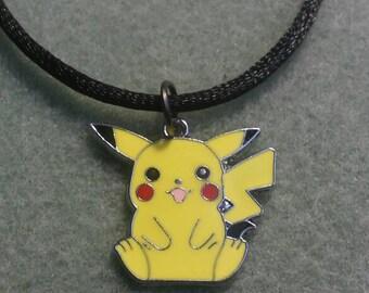 "Adorable Pokemon ""Pikachu"" necklace"