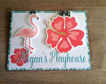 Flamingo Magnetic Bookmarks (Set of Two)