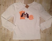 Smokey Love Tennessee Vols Football Power T Personalized Bodysuit, Burp Cloth, Bib, Baby Girl Tennessee