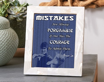 Mistakes Quote - Bruce Lee
