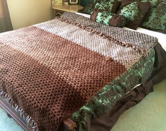 Double crochet blanket