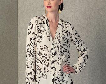 Vogue Pattern V1412 Misses' Top