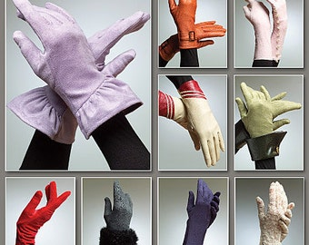 Vogue Pattern V8311 Gloves