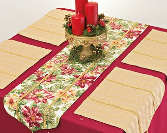 Simplicity Pattern 8011 It's So Easy Table Runner and Placemats