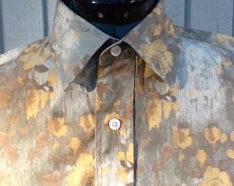 Men's Cotton Short Sleeve Shirt by Daniel Cremieux ~ Size M