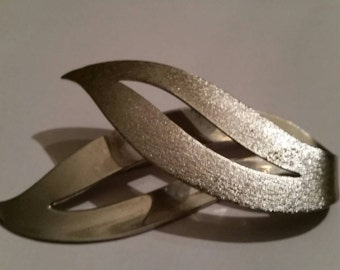 Vintage Sarah Coventry Silver Brooch Costume Jewelry