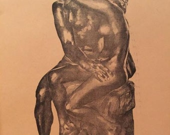 After Rodin by John Plumer Ludlum