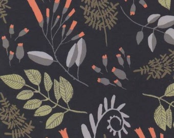 Foxtail Forest, Fern Bouquet, by Rae Ritchie cotton fabric