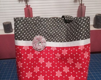 "Large Tote 15""x14""x4"""