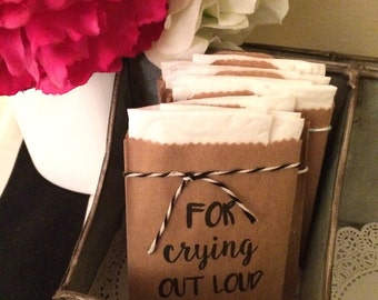 SALE: For Crying Out Loud Tissue Pack