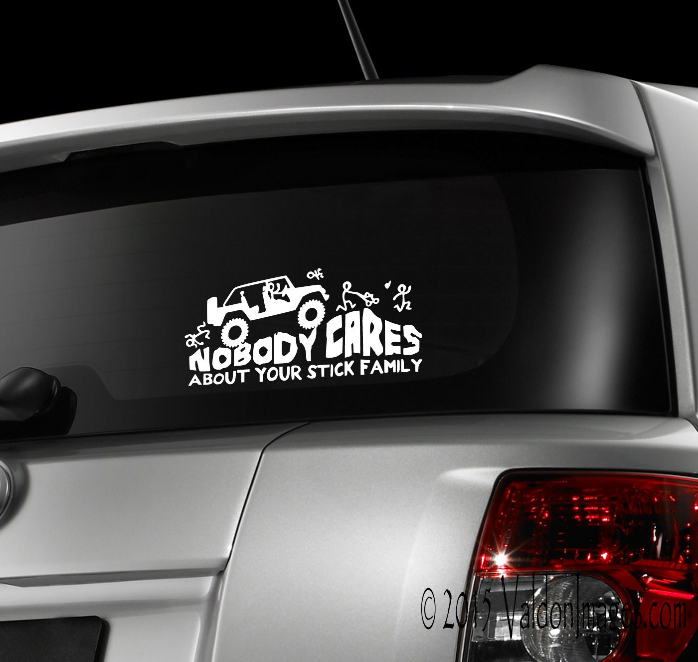 monster jeep stick family car decal car sticker laptop. Black Bedroom Furniture Sets. Home Design Ideas