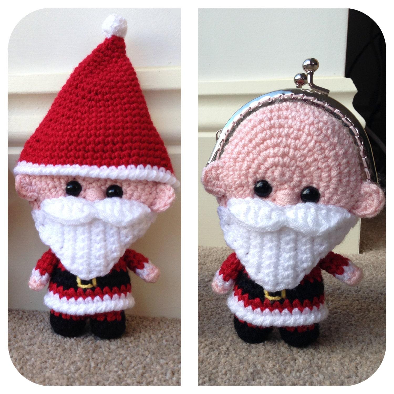 Free crochet santa purse pattern dancox for santa coin purse crochet pattern bankloansurffo Image collections