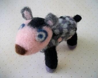 Wool Lamb, Needle Felted Sheep