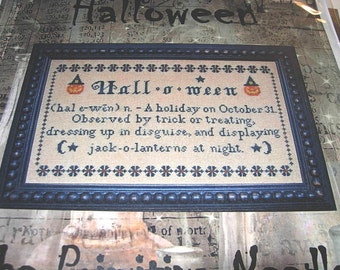 Halloween Sampler by The Primitive Needle