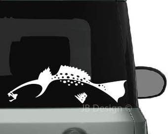 Speckled Trout Vinyl Vehicle and Boat Decal