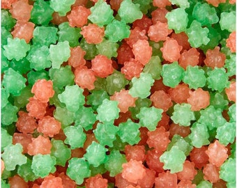 Red and Green Candy Sparkles Sprinkles -  Wilton Edible Sprinkles - Christmas Sprinkles, Holiday Sprinkles - Cake, Cookie, Cupcake Sprinkles