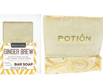 GINGER BREW Soap Bar