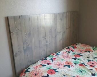 Headboard Queen twin size king full headboard rustic headboard custom headboard bed headboard, Wall hanging headboard, Fully Assembled!